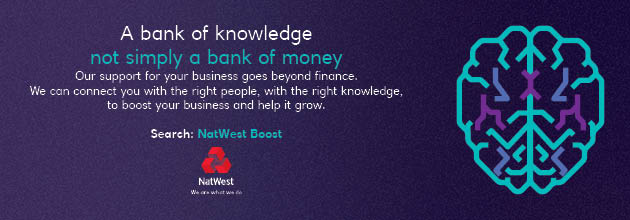 NatWest Boost Website Banner - Sponsor Header Advert