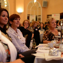 Networking at the Torfaen Women in Business event